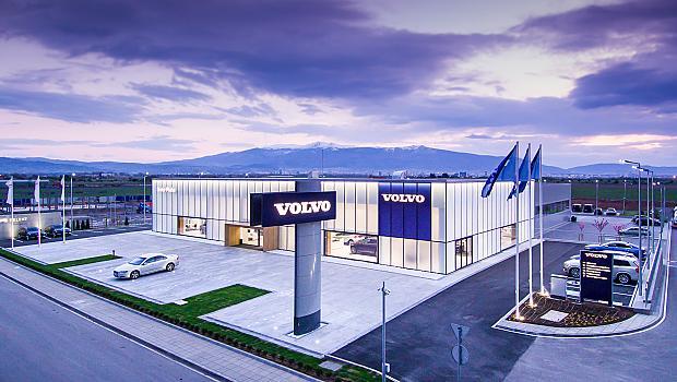 VOLVO отвори самостоятелен комплекс в София