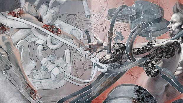 Естетиката на индустриална тематика в Галерия 2.0