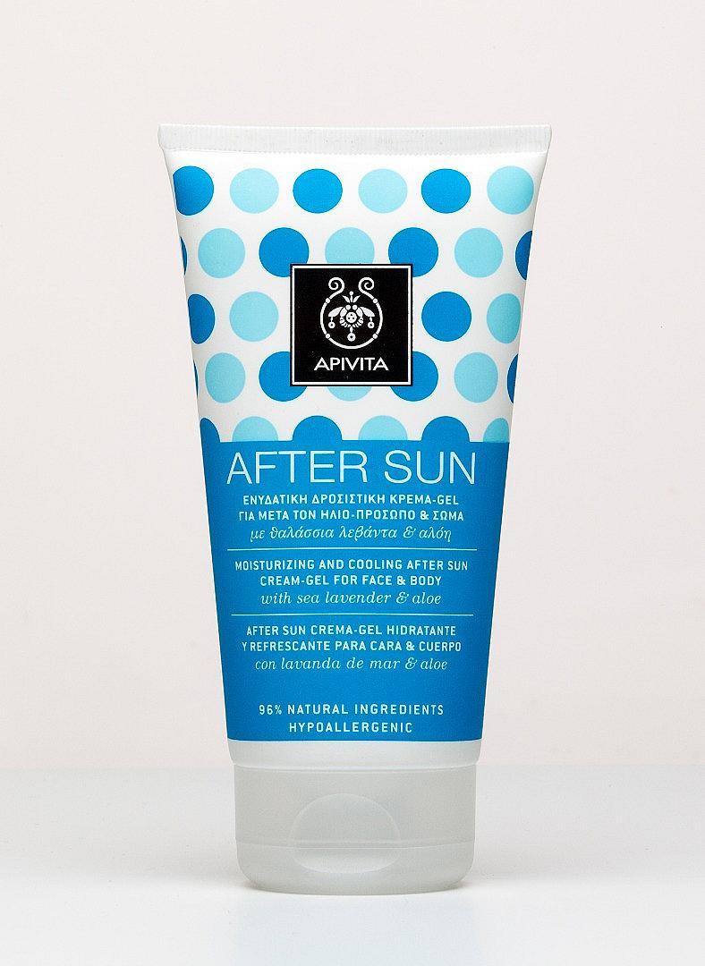 Крем-гел за лице и тяло After Sun на Apivita