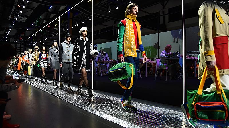 Как работниците от фабриката на Benetton станаха звезди на седмицата на модата в Милано