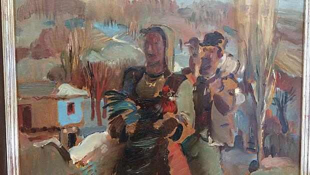Изложба отбелязва 117 години от рождението на Дечко Узунов