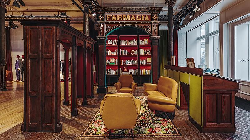 GUCCI откри салон за литература и изкуство в Ню Йорк