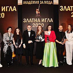 """Носителите на """"Златна игла 2020"""" заедно с проф. Любомир Стойков"""