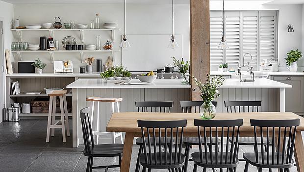 Кухнята и нейните различни лица: дърво & зеленина