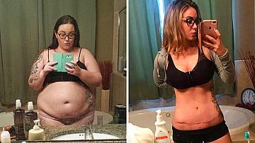 10 примера за хора, свалили повече от 40 кг от теглото си