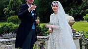 Първа кралска сватба за годината: Принцесата на Йордания Райя се омъжи в Лондон