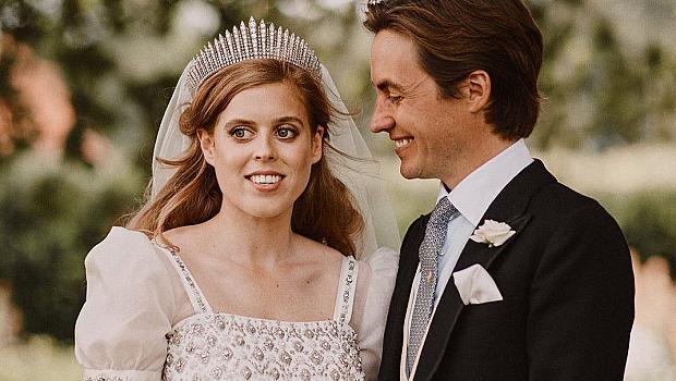 Принцеса Беатрис и Едоардо Мапели Моци посрещнаха рожба