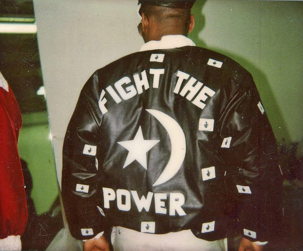 Fight The Power бомбър яке (1988)