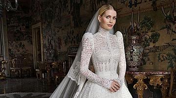 Най-красивата булчинска рокля в историята на кралските сватби
