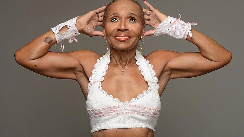 Най-мускулестата баба в света навърши 80 години
