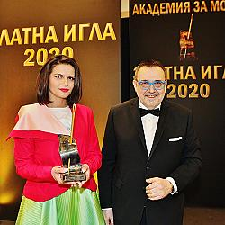 """Диляна Матеева стана """"Най-добър млад дизайнер"""""""