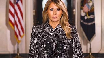 Мелания Тръмп направи последното си изявление като първа дама на САЩ