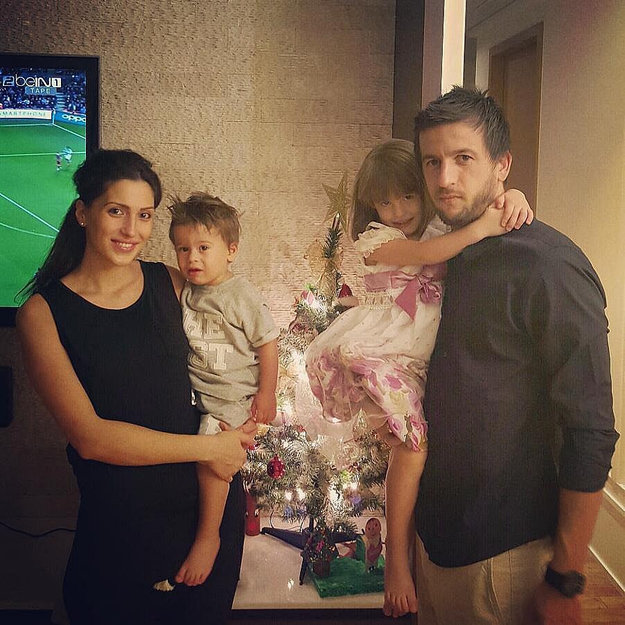 Ромина и Дарко с децата си Дария и Давид