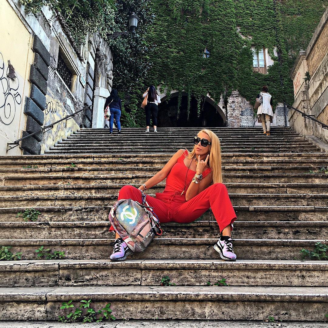 Венета Харизанова в Рим