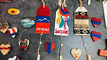 Арменски и български художници заедно на благотворителен базар