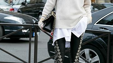 Идеи как да носите пуловер през зимата