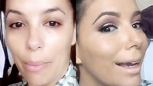 41-годишната Ева Лонгория дава урок по красота
