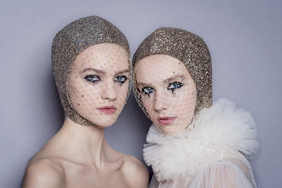 SPRING-SUMMER 2019 HAUTE-COUTURE, DIOR SHOW BACKSTAGE DIOR MAKE-UP CREATED AND STYLED BY PETER PHILIPS