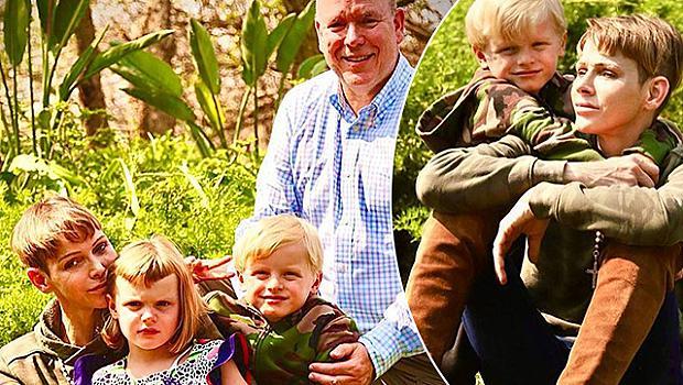 Принцеса Шарлийн най-накрая се събра със съпруга си Албер II и децата си