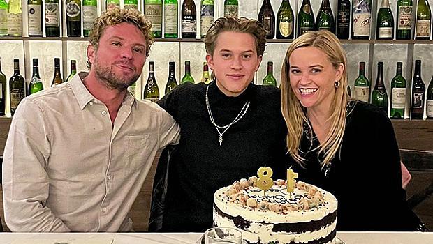 Рийз Уидърспун и Райън Филип отпразнуваха 18-ия рожден ден на сина си Дийкън