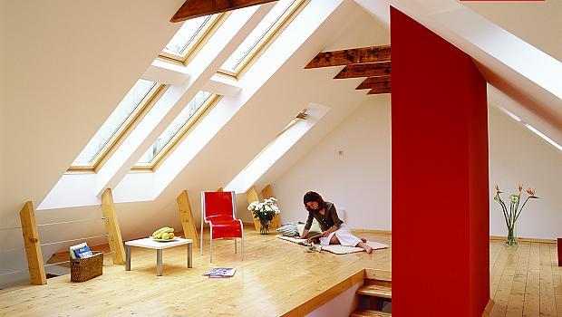 Усещането от покрива на къщата ви да навлиза животворна светлина