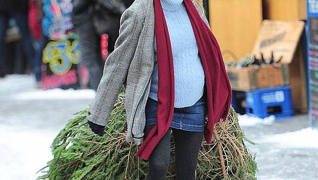 Ето я бременната Рене Зелуегър