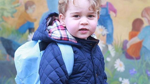 Принц Джордж тръгна на детска градина