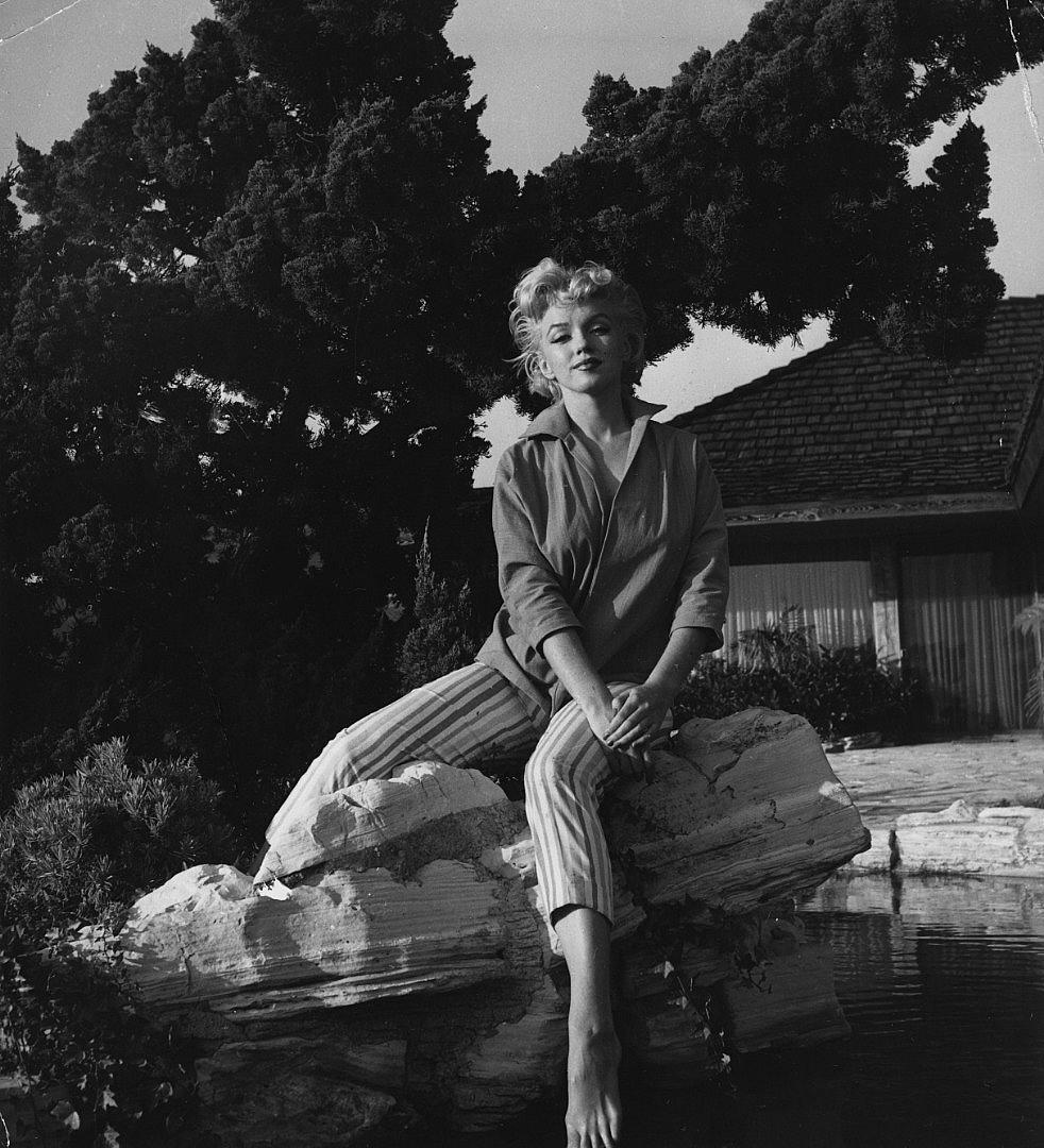 © Getty Images, Градината на Монро в Палм Спрингс, Калифорния, 1954 г., Градината на Монро в Палм Спрингс, Калифорния, 1954 г.
