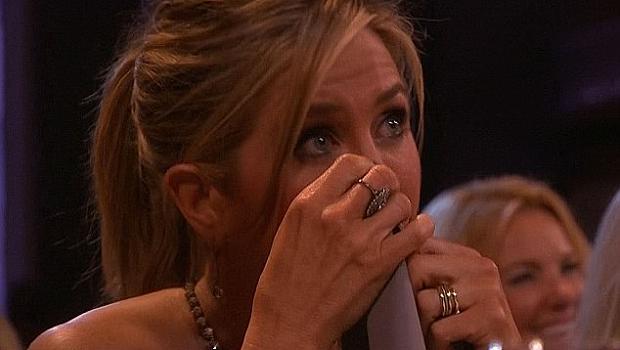 Кой разплака Дженифър Анистън?