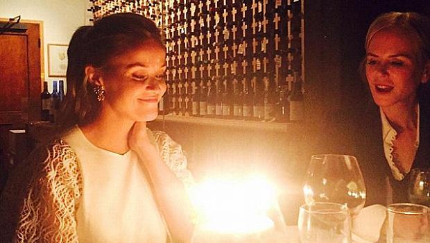 Рийз Уидърспун празнува рожден ден с куп звезди