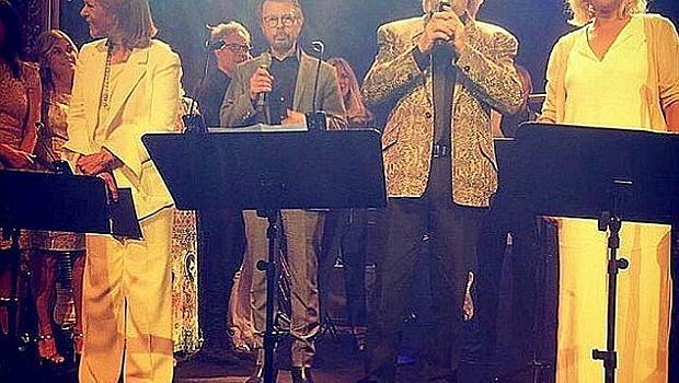 Мама миа! ABBA се събраха след 30-годишна раздяла
