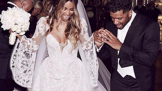 Сиара се омъжи на приказна сватба в замък