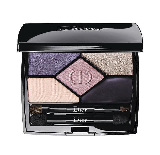Палитра сенки с четки 5 Color Designers на Dior