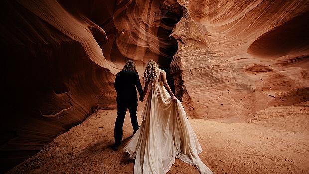 Сватба сред каньона Horseshoe Bend – неповторимо изживяване