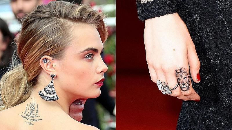 10 шантави татуировки на още по-шантавите звезди