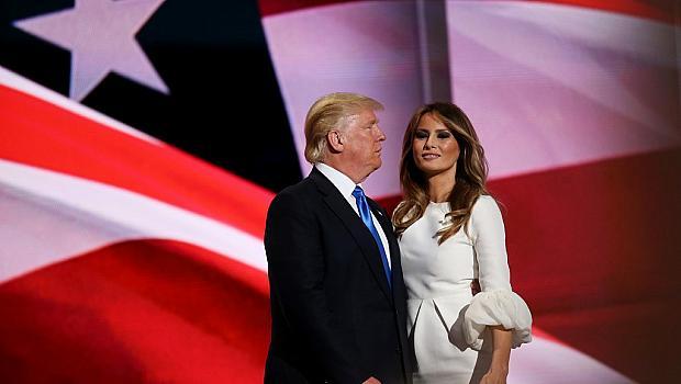 Мелания и Доналд Тръмп не се срещали с месеци