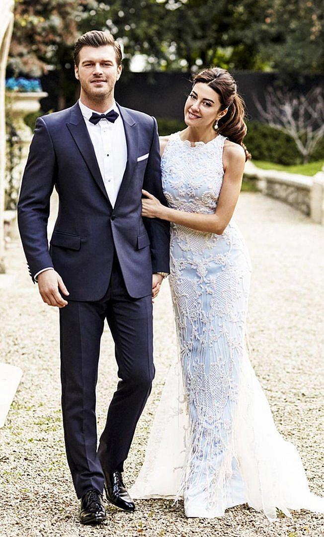 Къванч и Башак на сватбата си