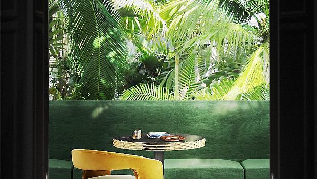 Топ тенденции в интериора: ярко жълто и джунгла от зелено