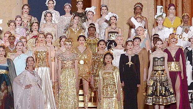 DOLCE&GABBANA Alta Moda, модерен прочит на класически епоси