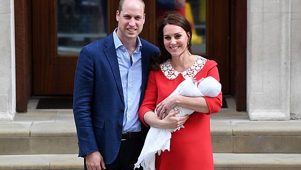 Принц Уилям и Кейт Мидълтън показаха публично третото си дете