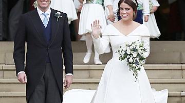 Сватбената рокля на принцеса Юджини