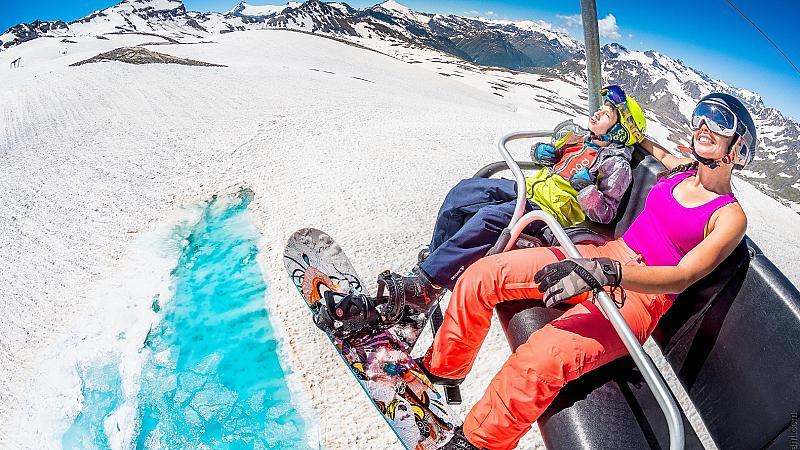 На ски през пролетта