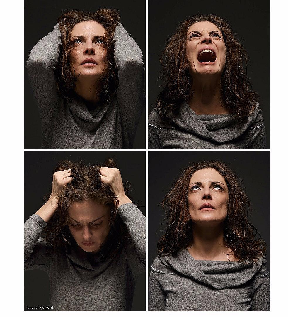 """ЖЕРТВА НА СТРЕСА За учените стресът е болестта на 21 век. За повечето от нас малко напрежение и нерви са нещо толкова обичайно, колкото сутрешното кафе. Проучванията сочат, че всеки пети българин живее под стрес, а всеки ден средно двама души у нас се самоубиват. България е на последно място в Европа по контрол на стреса на работното място. А според лекарите около 70-90 процента от заболяванията са провокирани именно от стрес. Доказано е, че жените са по-емоционалният пол. Да откраднем фразата на мъжете и да успокоим топката, а?  ТЕДИ: """"Носим си го този стрес, като второ сърце ни е станал и толкова много тежи..."""""""
