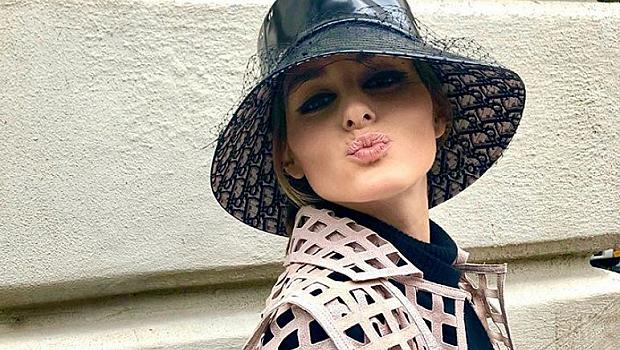 Как да носим шапка панама през есента? Взимаме идея от Оливия Палермо