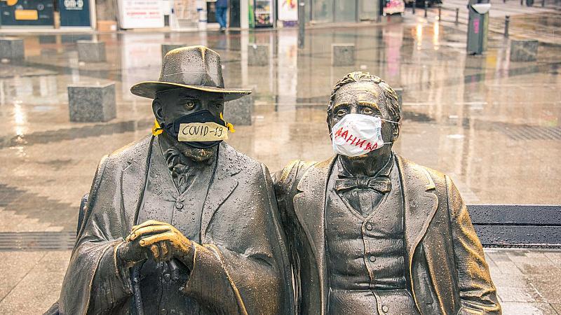 """Изкуство срещу коронавирус и за истинското значение на думата """"паника"""""""