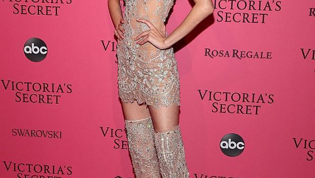 Моделите след шоуто на Victoria's Secret