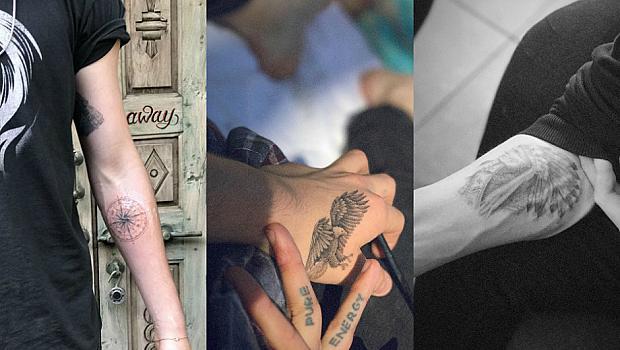 Бруклин Бекъм и Кара Делевин с еднакви татуировки