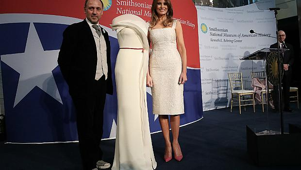 Мелания Тръмп подари роклята си от инагурацията на Националния музей на американската история
