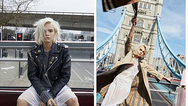 Кара Делевин е лицето на новия аромат на Burberry