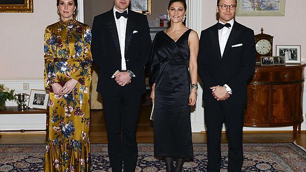 Кейт Мидълтън грее в жълта рокля с богат принт